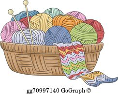 Knitting Clip Art.