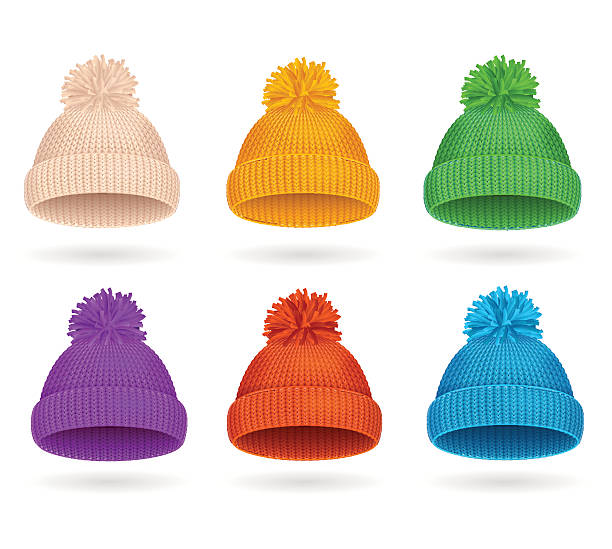 Best Knit Hat Illustrations, Royalty.
