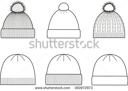 Knit Hat Stock Images, Royalty.