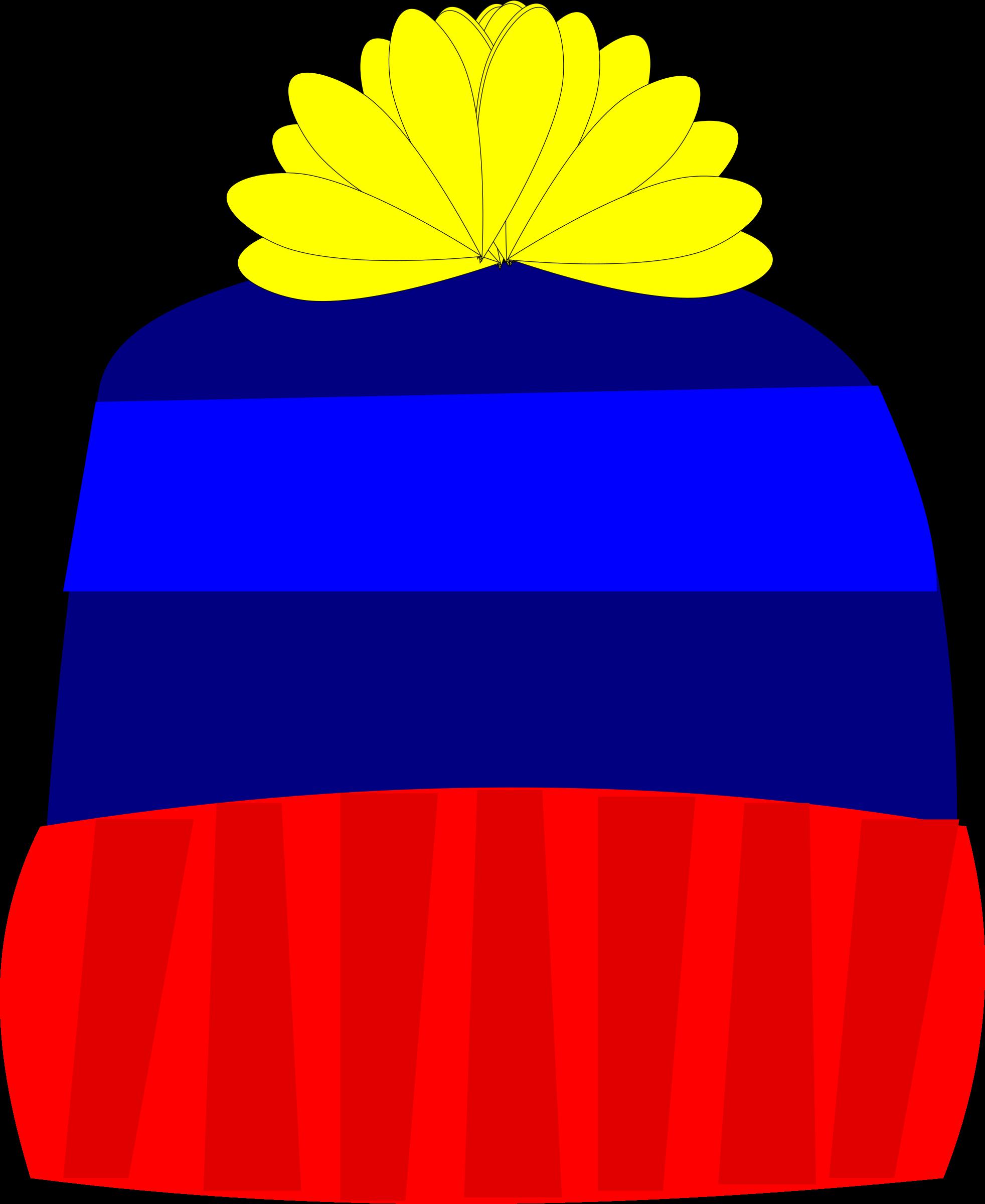 Knit beanie cap clipart - Clipground