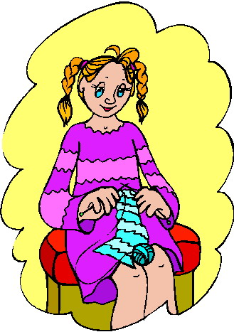Knit Clipart.