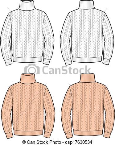 Vectors of Sweater.