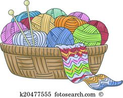 Knitting Clip Art and Illustration. 5,514 knitting clipart vector.
