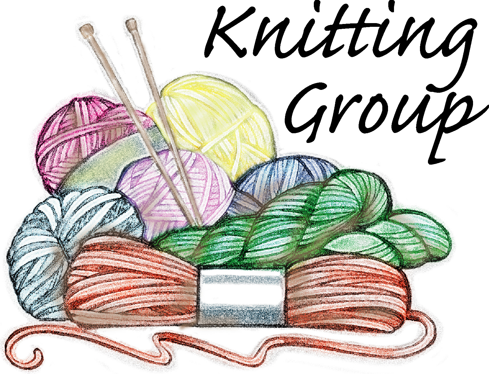 Knitting In Art : Knitted clipart clipground