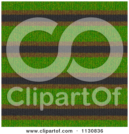 Clipart Of A Seamless Knit Fabric Texture Background Pattern.