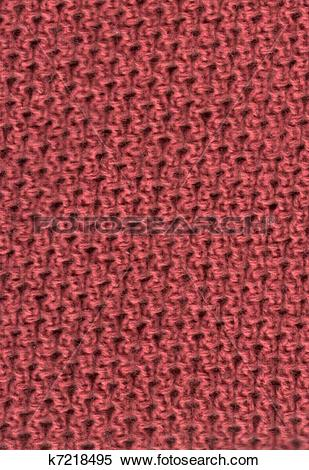 Stock Illustration of Knitted fabric k7218495.