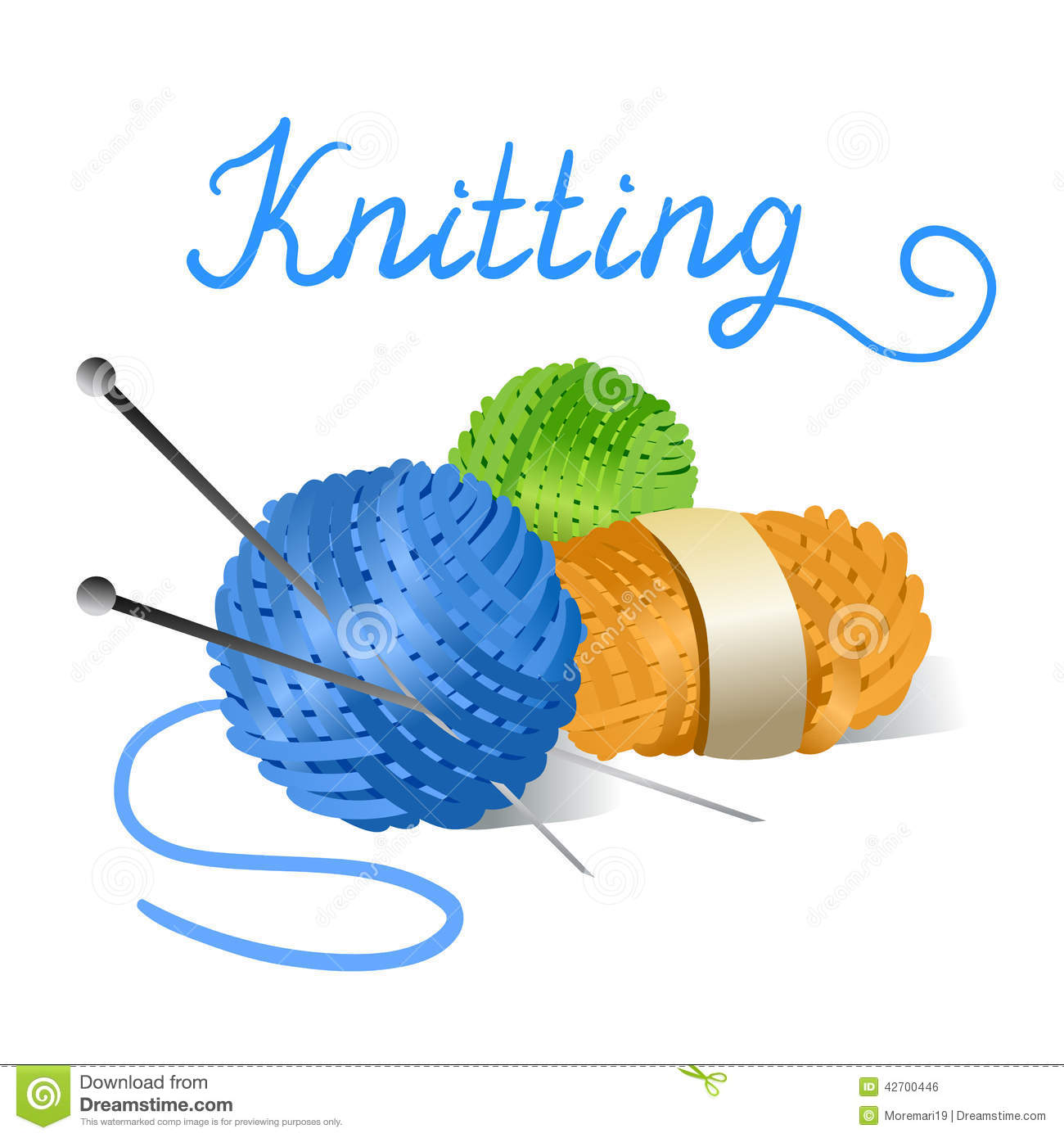 Gallery For > Sheep Knitting Clipart Itself.