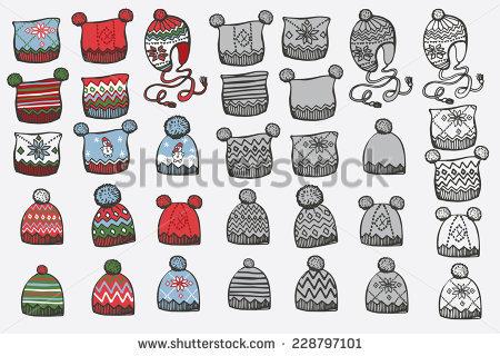 Knit Cap Stock Photos, Royalty.