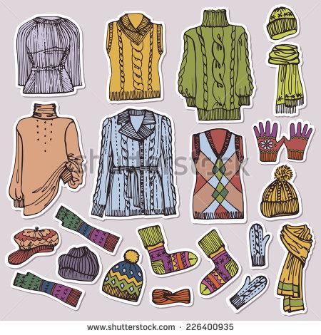 Winter Wear Stock Vectors, Images & Vector Art.