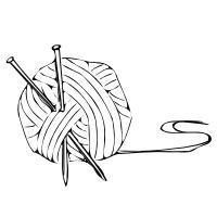 Free Knitting Clipart.