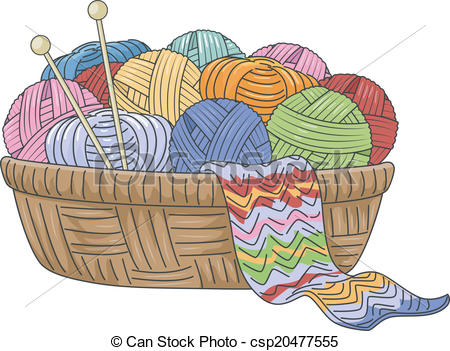 Knitting Basket.