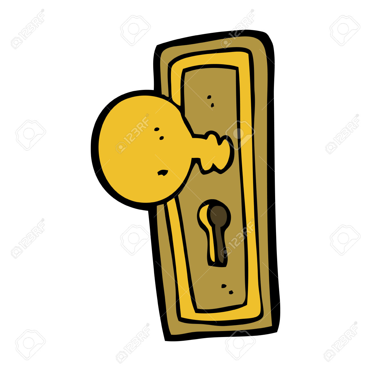 clipart door handle #2