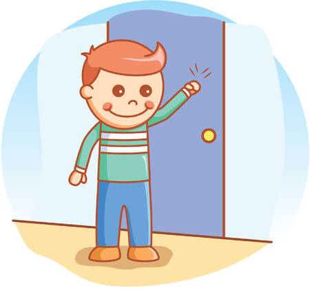 Knocking on door clipart » Clipart Station.