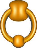 Door Knocker Clip Art.