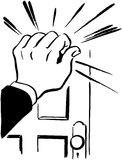 Knocking Hand Clipart.