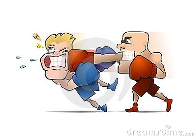 Cartoon Knockout Stock Illustrations.