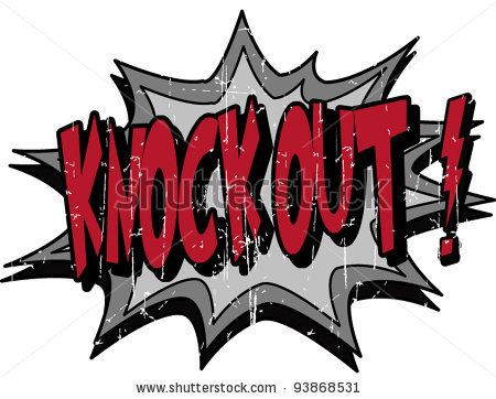 Knock Out Clipart.