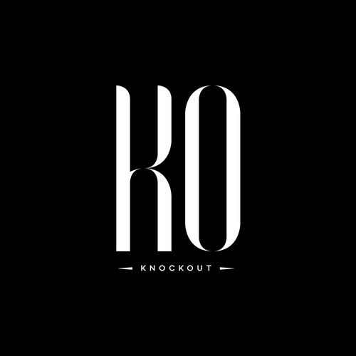 KNOCKOUT needs a sleek, modern logo.