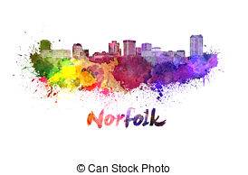 Norfolk skyline Clip Art and Stock Illustrations. 8 Norfolk.