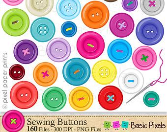 Button Clip Art Free.