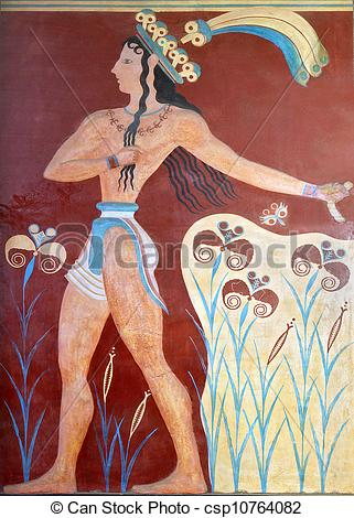 Pictures of Knossos palace at Crete in Greece.
