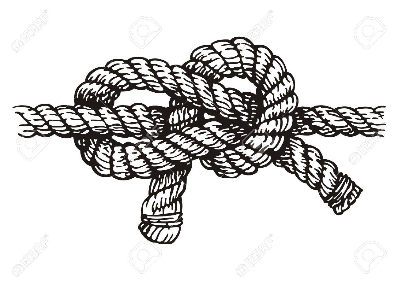 Tied knot clipart.