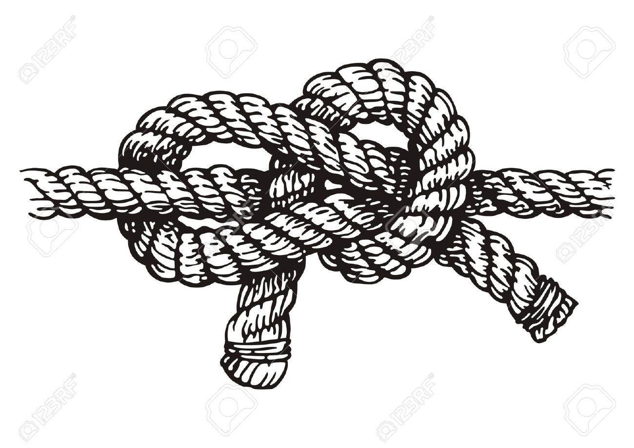 Tied Rope Clipart.
