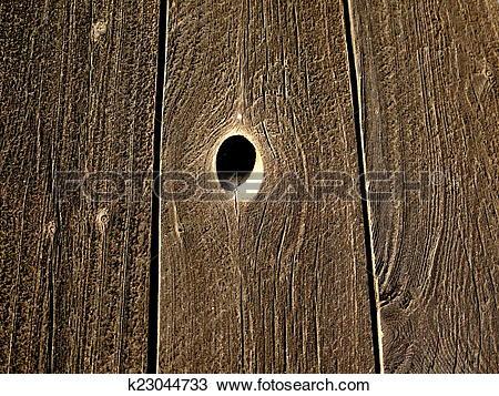 Stock Photo of knothole k23044733.