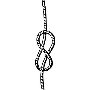 Sailor Knot Clipart.