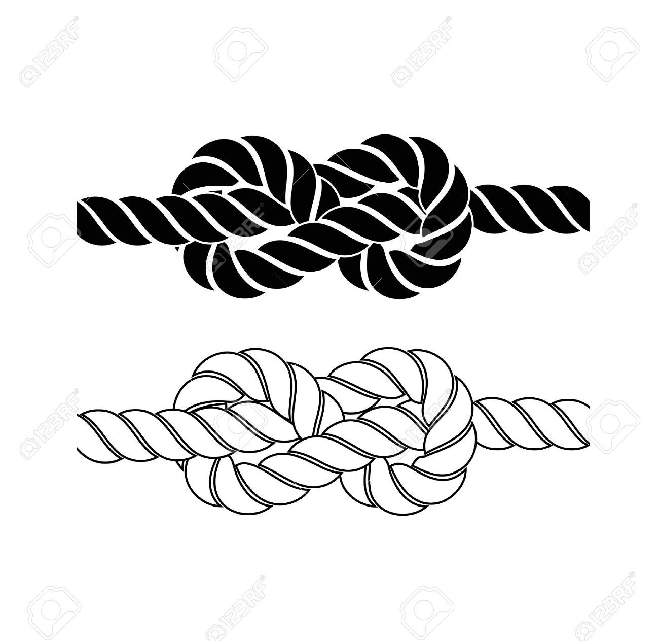 Knotted rope clipart 4 » Clipart Portal.