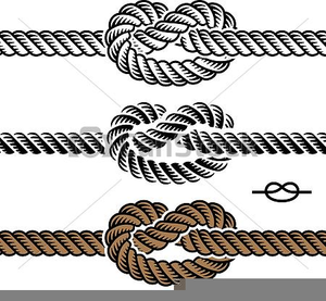 Rope With Knot Clipart.