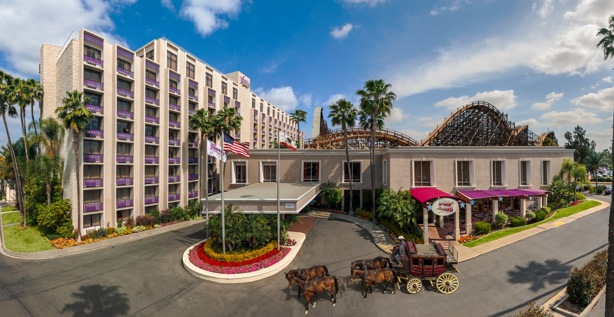 Knott's Berry Farm Hotel.