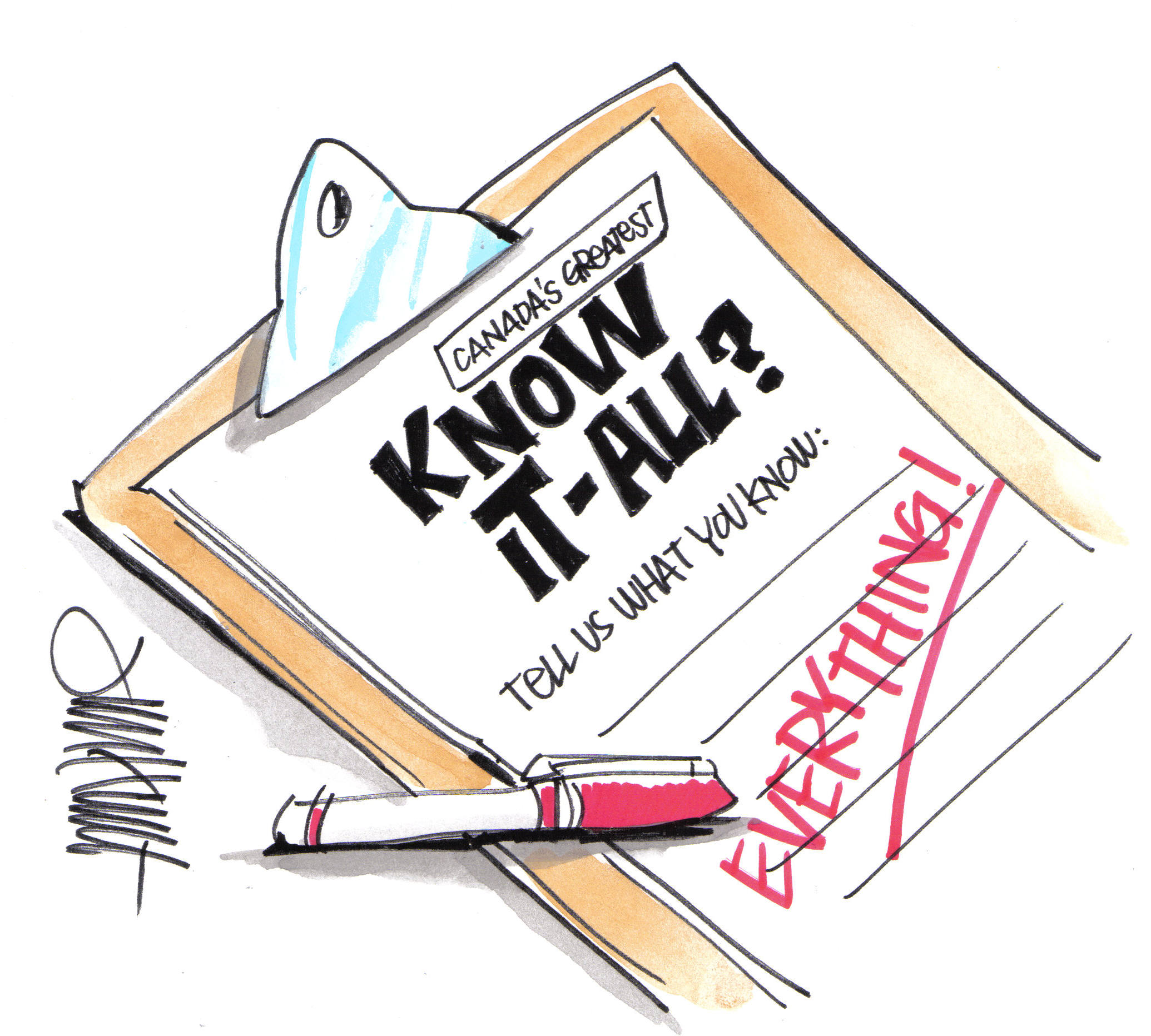Know It All Clipart.