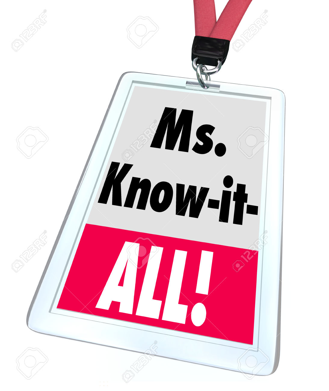 Ms. Know.