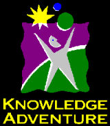 Old Knowledge Adventure logo font?.