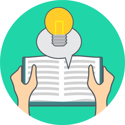 energy idea knowledge icon.