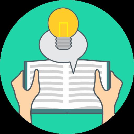 energy idea knowledge icon.