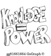 Knowledge Is Power Clip Art.