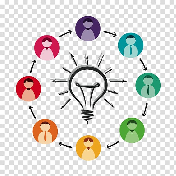 Idea graphics Knowledge management Illustration, exchange.