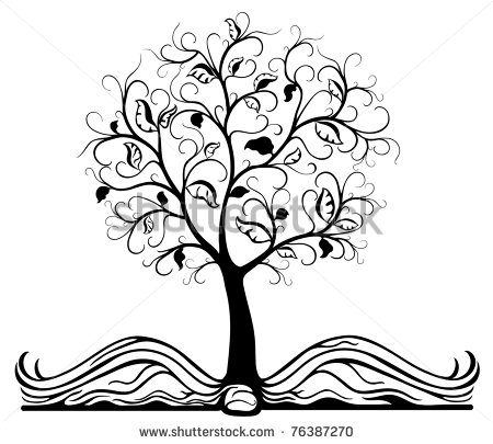 Tree Of Knowledge Clipart.