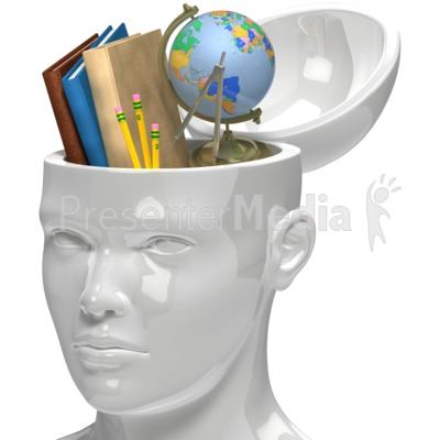 Knowledge Is Power Clipart.