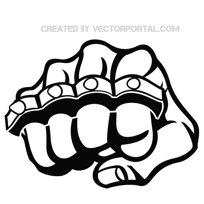 Knuckle Duster Clipart.