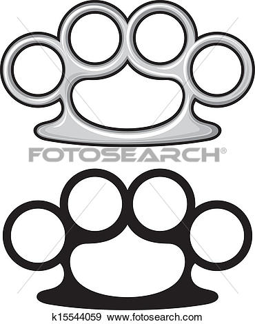 Brass knuckles Clip Art Illustrations. 201 brass knuckles clipart.