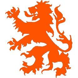 The Dutch lion. Most will recognize it from the KNVB (Dutch.