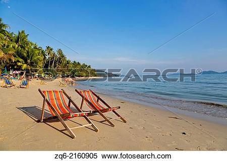 Stock Image of Klong Koi Beach on Ko Chang, Thailand. zq6.
