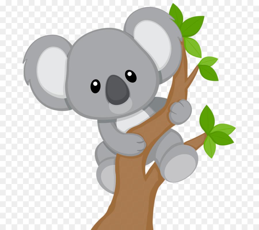 Koala Cartoon clipart.