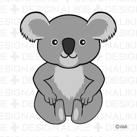 Clip Art Koala Bear Clipart.
