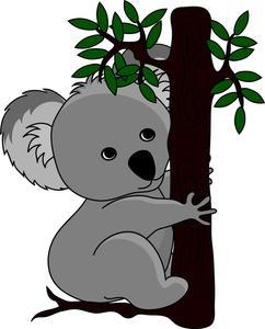 Clipart koala bear.