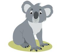 Free Koala Clipart.