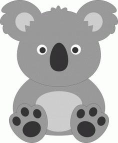 Free Cute Koala Clip Art.